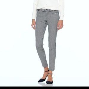 Banana Republic Sloan Skinny- fit Striped pants